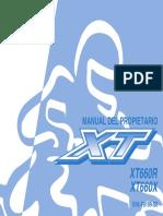 Xt 660 Manual