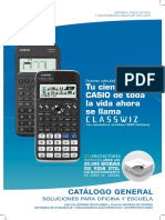 Catalogo Casio