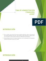 SISTEMA DE ADMINISTRACIÓN FINANCIEROeSIGEF