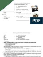 Plan Anual y Programación Curricular 2015