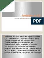 Boletin C-11 Expo