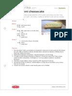 Jednostavni Cheesecake