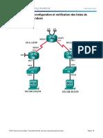 9.3.2.13 Lab Configuration; Et Vérification Des Listes de Contrôle Daccès Étendues