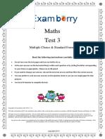 Maths Paper 3