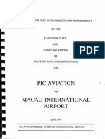 Proposal for the Development of Macau International Airport (
