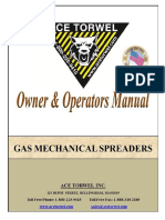 Gas Mechanical Spreader Unit Manual