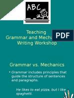 grammar instruction anderson