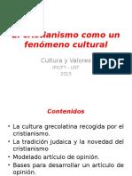 El Cristianismo Como Un Fenómeno Cultural 1a Parte