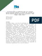 Determinación de la calidad del agua en el estuario Nervión Ibaizabal mediante el análisis del contenido en PAH del mejillón Mytilus Edulis para el proyecto