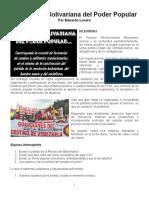 La Escuela Bolivariana Del Poder Popular - Documento Word