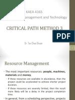 Resources Management
