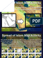 spread of islam map activity pdf