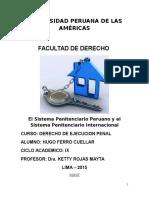 El Sistema Penitenciario Peruano y El Sistema Penitenciario Internacional