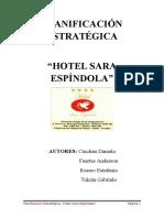 Planificación Estratégica Hotel Sara Espíndola
