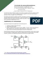 Anotações Sobre Amplificadores de Instrumentação e Amplificadores - Lock-In