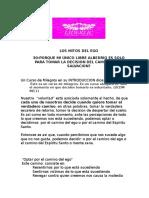 39A-PORQUE MI UNICO LIBRE ALBEDRIO ES SOLO PARA TOMAR LA DECISION DEL CAMINO DE LA SALVACION?