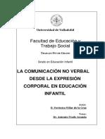 LA COMUNICACIÓN NO VERBAL DESDE LA EXPRESIÓN CORPORAL EN EDUCACIÓN INFANTIL