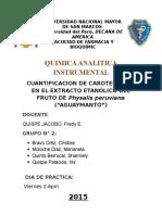 Proyecto de Quimica Analitica Instrumetal