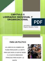 Liderazgo Individual y Organizacional