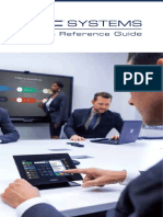 QSC Systems Pocket Reference Guide 2015