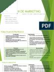 Plan de Marketing Diapositivas