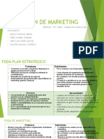 Plan de Marketing Diapositivas