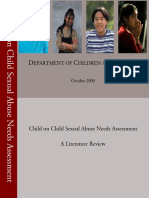 Final Child-On-Child Sexual Abuse Needs Assessment Literature Review2