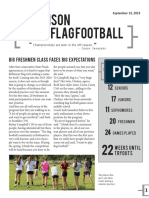 Flag Football Vol 5 Issue 1