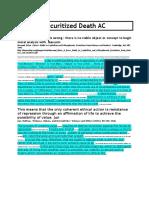 AC - Securitized Death