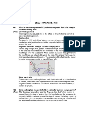 Chapter 15 Class 10th pdf | Electromagnetic Induction | Inductor