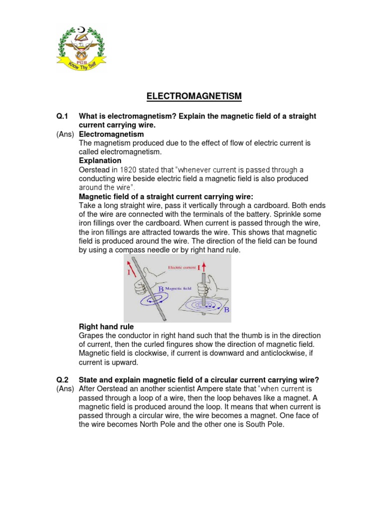 Chapter 15 Class 10th.pdf | Electromagnetic Induction | Inductor