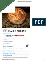 Pan Holandés Al Horno - Barcelona Alternativa