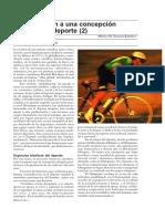 Aproximación a Una Concepción Bioética Del Deporte (2)