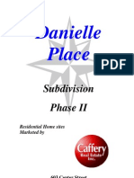 Danielle Place Subd Phase II Packet