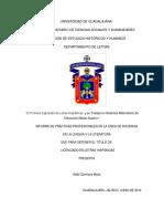 El Profesor Egresado de Letras Hispanicas y su trabajo en sistemas alternativos de Educación Media Superior