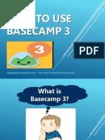 Ligaya_Malay_How to Use Basecamp 3