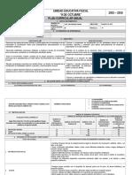 Planificacion Actual DE EDUCACION FISICA