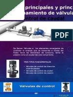 4.4.-Principio y Funcionamiento de Valvulas de Control de Caudal