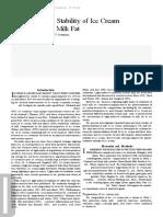 7. Fotooxidacion en Helados de Crema
