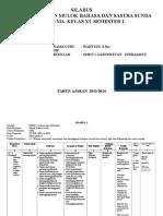SILABUS Bahasa Sunda Kls XI SMS 1 News