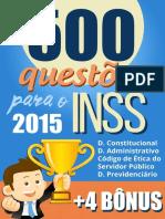 500 Questoes Para o INSS Carlos Henrique