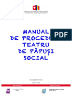 Manual Teatru de Păpuși Social