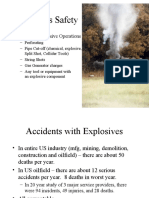Perforating Explosives Safety