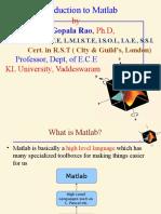 476 56518 MVGR Matlab Tutorial