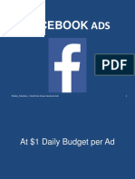 A/B Testing Facebook Ads on Work From Home