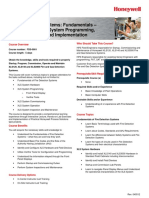 FDS 0001 en DES 439 R000 REV01 0 Fire Detection Systems Fundamentals XLS140 XLS3000 Sys Progrm Commission and Implm