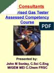 Authorised Gas Tester Train-The-Trainer Course - Portrait -