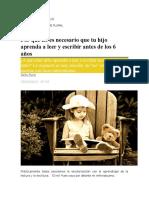Por Que No Es Necesario Que Tu Hijo Aprnda a Leer y Escribir Antes Delos 6 Años-El Diari de Leducació(1)