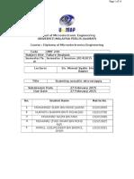 Scanning Acoustic Microscopy (SAM) Report