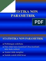 14. Statistik Non Parametrik